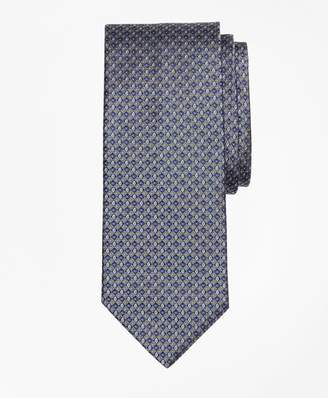 Brooks Brothers Small Alternating Flower Tie