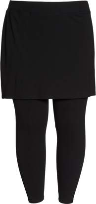 Eileen Fisher Skirted Leggings