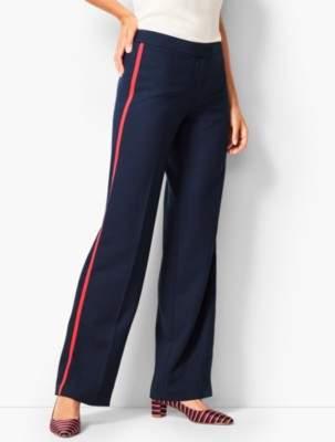 Talbots Crepe Wide-Leg Pant