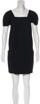 Vince Short Sleeve Mini Dress