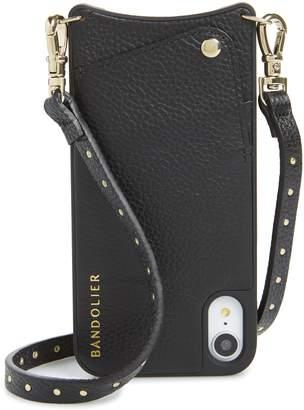BANDOLIER Nicole Pebbled Leather X/Xs/Xs Max & XR Crossbody Case