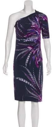 Just Cavalli One-Shoulder Midi Dress