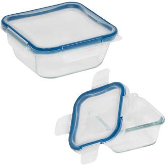 Snapware Total Solution 4-piece Glass Food Storage Container Set