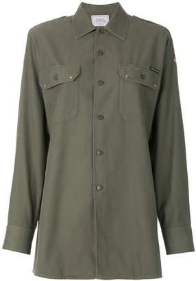 Couture Forte Dei Marmi embroidered back shirt