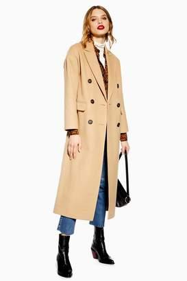 Topshop PETITE Brushed Coat