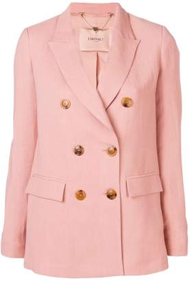 Twin-Set double breasted blazer