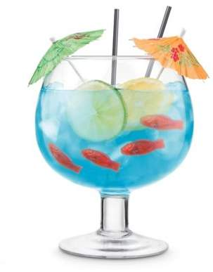 Final Touch Fish Bowl Glass