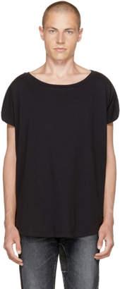 Faith Connexion Black Wide Neck T-Shirt