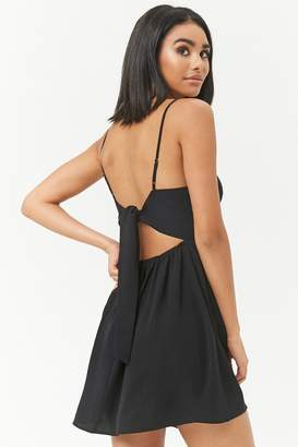 Forever 21 Tie-Back Skater Dress