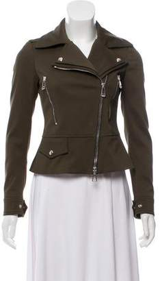 Belstaff Asymmetrical Zip-Up Moto Jacket w/ Tags