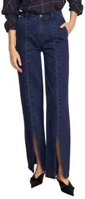 Habitual Suri High Waist Slit Front Jeans
