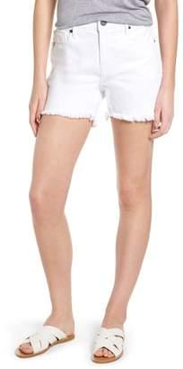 Parker SMITH Step Hem Frayed Denim Shorts