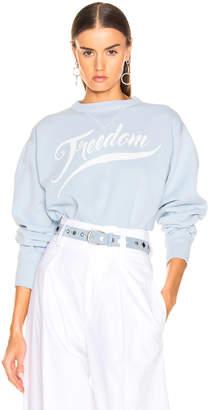 Etoile Isabel Marant Rise Sweater in Light Blue | FWRD