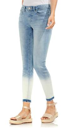 Vince Camuto Ombre Release Hem Skinny Ankle Jeans