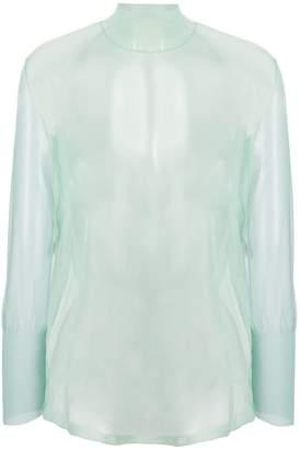 Mame sheer blouse