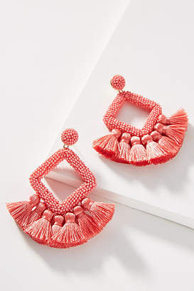 BaubleBar Laniyah Fringed Drop Earrings