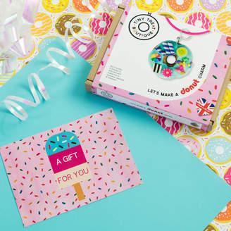 Tiny Treat Boutique Donut Themed Jewellery Craft Kit