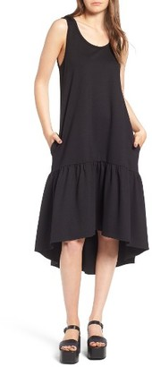 Women's Leith Flounce Midi Dress $59 thestylecure.com