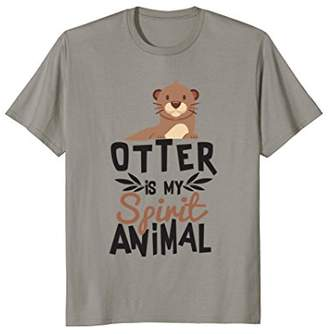 Otter Is My Spirit Animal Cute T-Shirt for Animal Lover