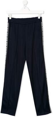 MSGM TEEN side panel track pants