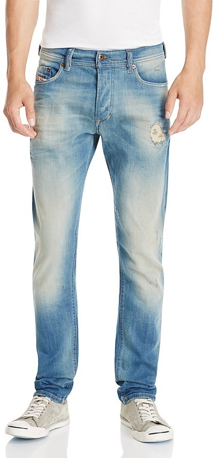 Diesel Diesel Tepphar Super Slim Fit Jeans in Denim