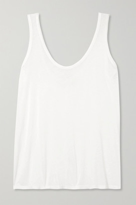 The Row Thomaston Slub Jersey Tank - White