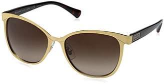 Ralph Lauren Sunglasses Women's 0ra4118 Non-Polarized Iridium Cateye