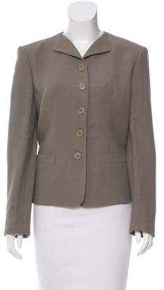 Giorgio Armani Wool-Blend Evening Jacket