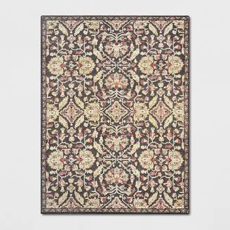Threshold Chenille Tapestry Persian Floral Woven Rug