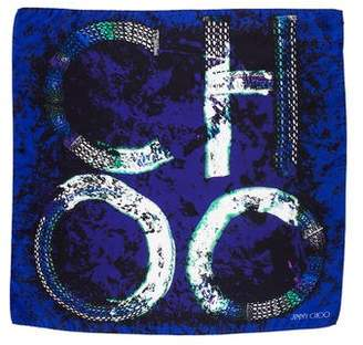 Jimmy Choo Silk Square Scarf