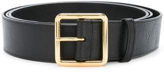 Alexander McQueen square buckle belt