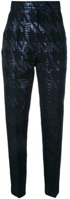 Martin Grant houndstooth cigarette trousers