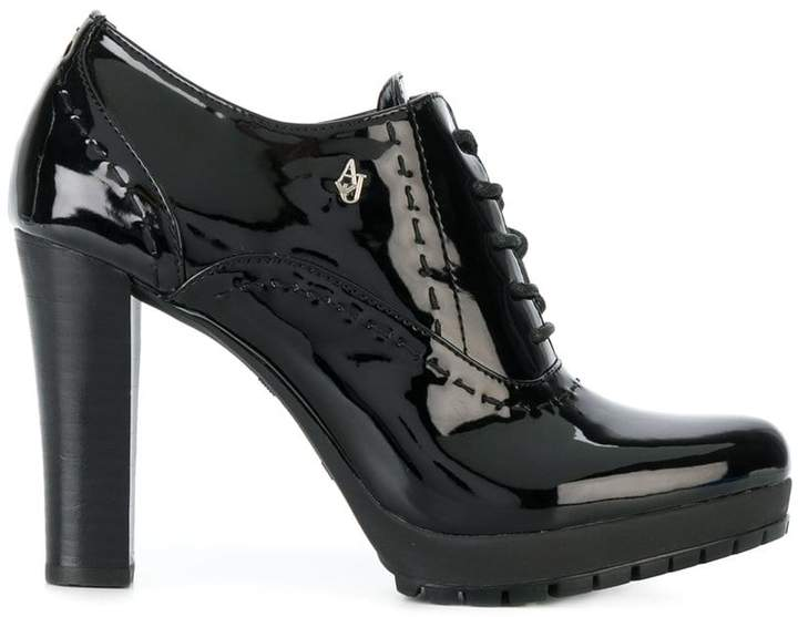 Armani Jeans lace-up boots