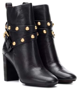 See by Chloe Janis leather ankle boots