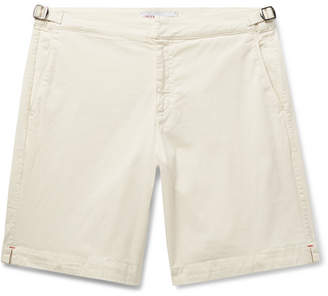 e660fbc675 Orlebar Brown Dane Garment-Dyed Slim-Fit Stretch-Cotton Twill Shorts