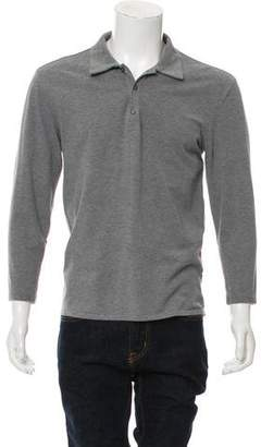 Maison Margiela Long Sleeve Polo Shirt