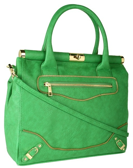 olivia + joy - Miss Priss Satchel (Green) - Bags and Luggage