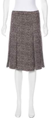 Rena Lange Silk-Blend Knee-Length Skirt