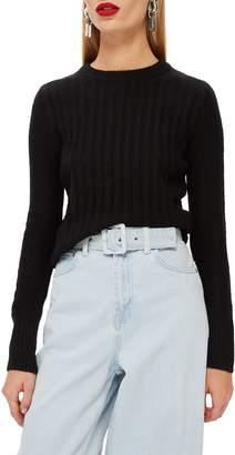 Topshop Rib Sweater