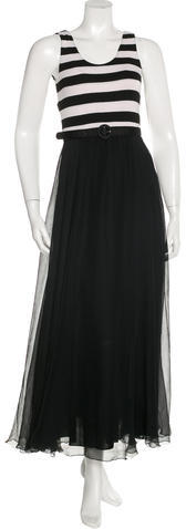 Alice + Olivia Alice + Olivia Belted Maxi Dress