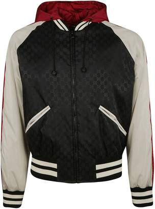 Gucci Gg Signature Hooded Jacket