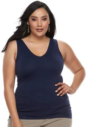 Apt. 9 Plus Size Essential Reversible Seamless Tank