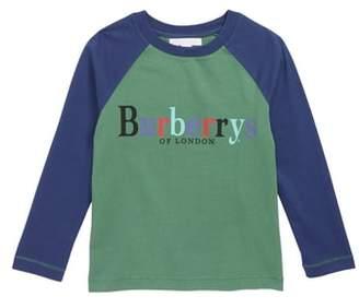 Burberry Archive Logo Raglan Shirt