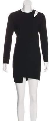 IRO Polina Silk-Trimmed Dress