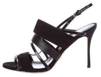 Sergio Rossi Multistrap Ankle Strap Sandals