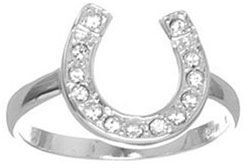 Kate landry horseshoe ring