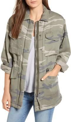 Rails Whitaker Camo Utility Linen Blend Jacket