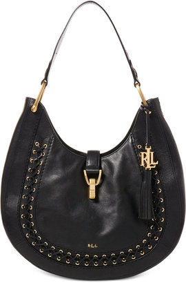 Lauren Ralph Lauren Ashfield Abree Hobo $498 thestylecure.com
