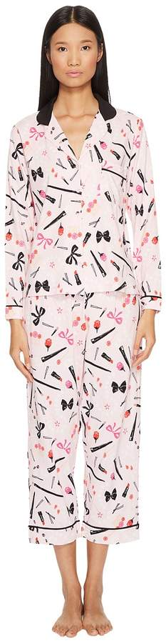 Kate Spade New York - Pajama and Sleepmask Set - Gift Packaged Women's Pajama Sets