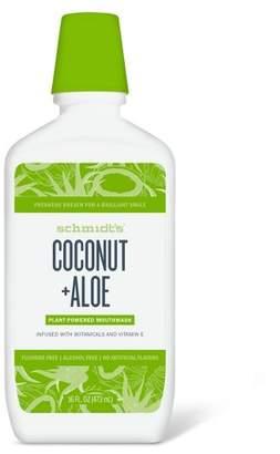 Schmidt Schmidt's Coconut Aloe Mouthwash - 16 fl oz